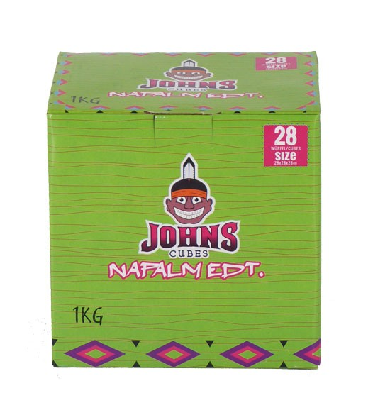Johns Cubes Nafalm Edt. 28 Shisha Kohle - 1kg