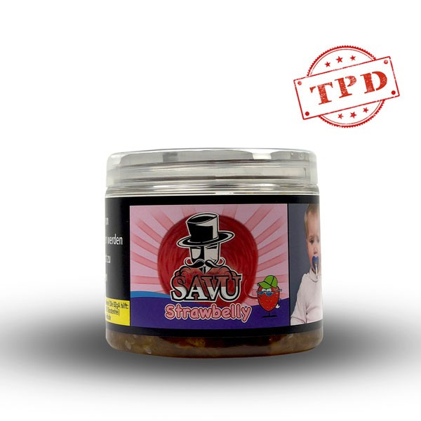 Savu Tabak 200g - Strawbelly