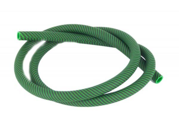 Shisha Schlauch Carbonmuster grün