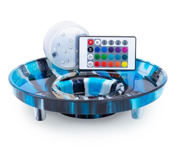 Venoz LED T1 - Desert Blue - LED Untersetzer