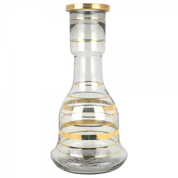 Ersatzglas traditionell transparent-gold 30cm