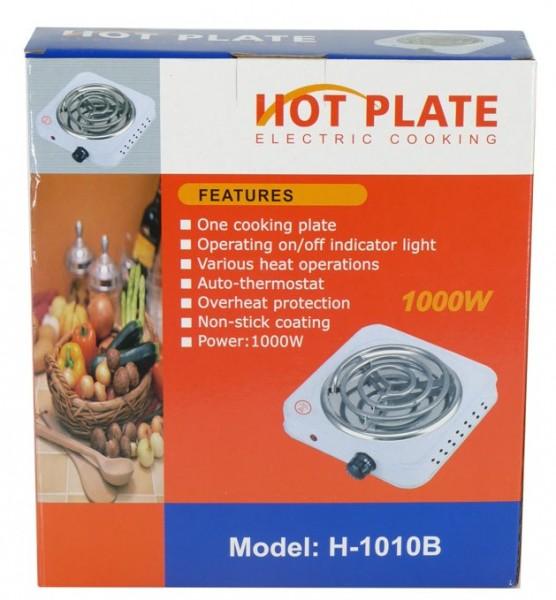 Hot Plate 1000 watt weiß