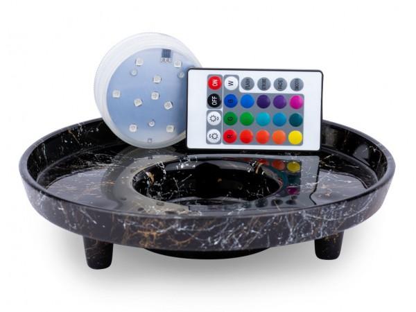 Venoz LED T1 - Picasso Black - Led Untersetzer
